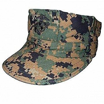amazon com usmc genuine 8 point cover hat woodland marpat