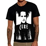 Mazumi8 The Cure Robert Smith T-Shirt Size L Black