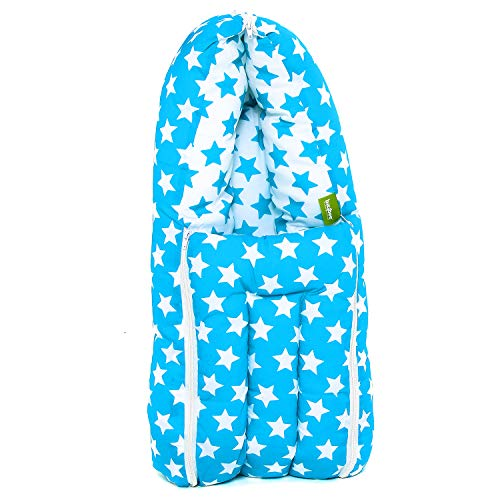 Baybee Little Star 3 in 1 Baby's Cotton Bed Cum Carry Bed Printed Comfortable Baby Sleeping Bag-baby bed-Infant Portable…