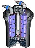 SUNSUN-CPF-280-Bio-Druckteichfilter-incl-11-Watt-UV-C-Einheit-Teichfilter-Teich-Filter-UVC