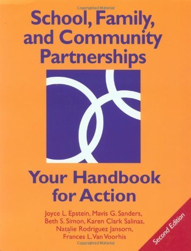 School, Family, and Community Partnerships: Your Handbook for Action by Joyce L. Epstein (2002-06-17)