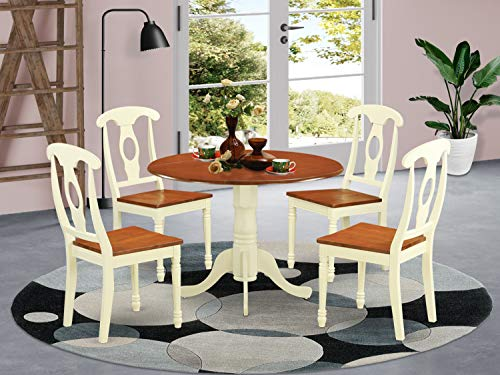 5 PC Dining set-Dining Table and 4 Dining Chairs