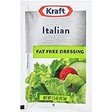 Kraft Italian Fat Free Salad Dressing (1.5 oz Packets, Pack of 60)