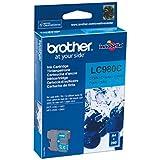 Brother LC980C - Cartucho de tinta cian (duración estimada: hasta 260 páginas según ISO/IEC 24711)