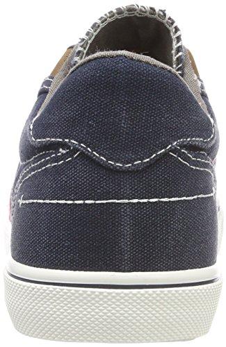Dockers by Gerli Unisex-Kinder 42tb601-790667 Sneaker Blau (Navy/Rot 667)