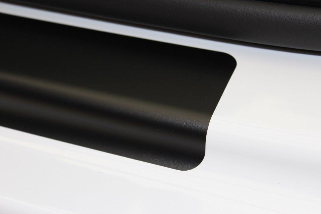 Einstiegsleisten Lackschutzfolie Schutzfolie Schwarz Matt Folie T/üreinstiege Einstiege 2137