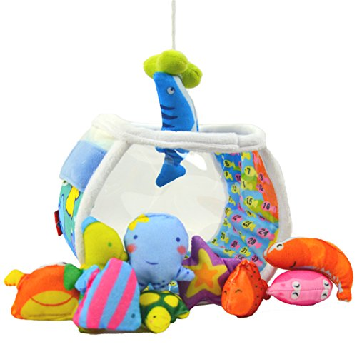 TotMart Toddler Fishing Tank Toy for Early Age Development, Baby interactive toys, Baby activities color toy.