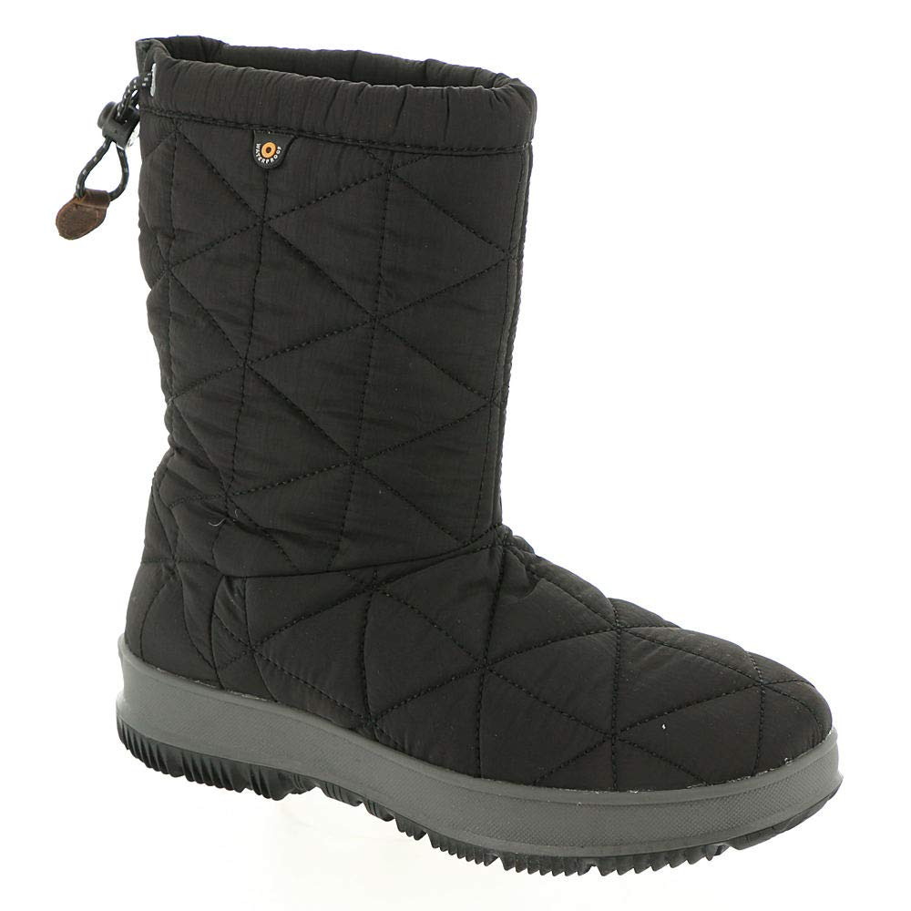 23b202bae72 Bogs Women's Snowday Waterproof Winter Boot Round Toe