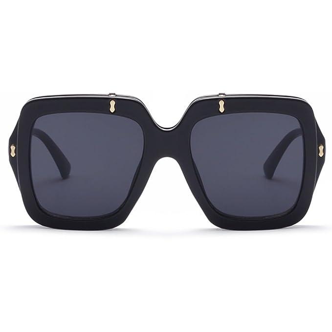 Frauen Retro Sonnenbrille Flip-Cover Vintage 80er Jahre klassische Mode Designer Square Eyewear Oversized 7L487