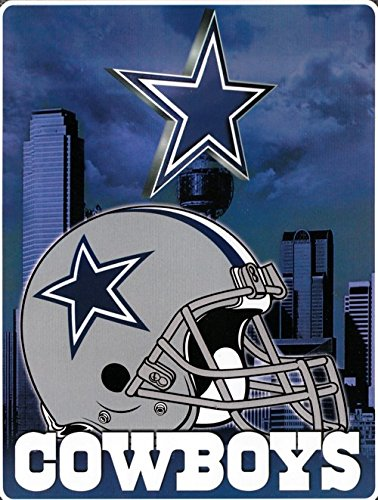 dallas cowboys aggression raschel throw