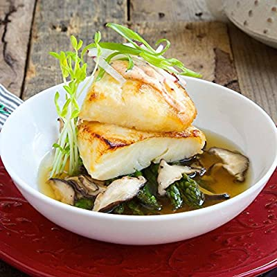 Miso Glazed Sea Bass with Dashi Broth by Chef'd