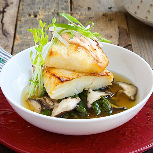 Miso Glazed Sea Bass with Dashi Broth by Chef'd (Dinner for 2)