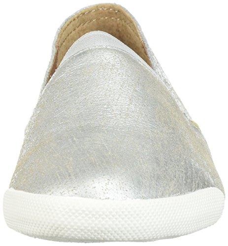 FRYE Sneaker on Women's Melanie Silver Slip gTqgrCw