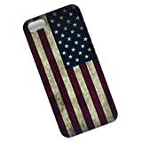 Slim Case for iPhone 5, 5s, SE. USA Flag.