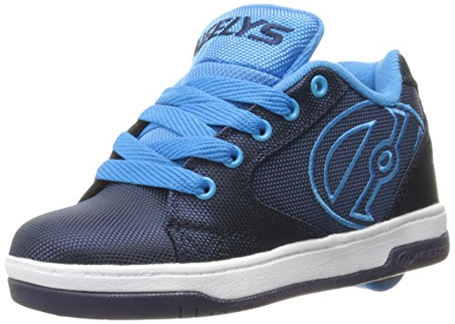 Heelys Boys' Propel 2.0 Sneaker, Navy/New Blue, 13 M US Little Kid by Heelys