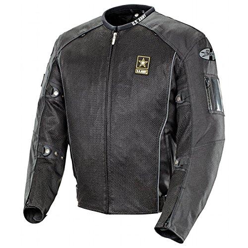 Joe Rocket Army Recon - Men's Military Spec Textile Mesh Motorcycle Jacket - Medium