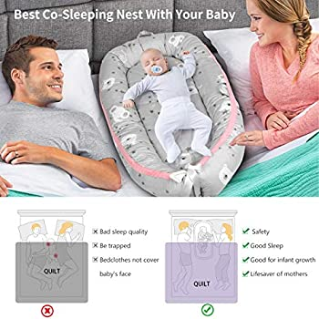waterproof mattress toddler nest babynest mattress for baby nest cosleeper change pad Removable pad for nest travel bed
