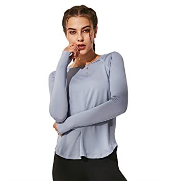 PanpanBox Slim Fit Tracksuit Top Mujer Sudadera Yoga ...