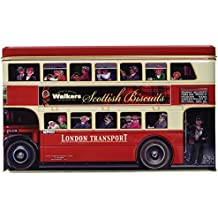Walkers Shortbread, London Bus Tin Scottish Cookie Assortment #5483, 15.8 Ounce