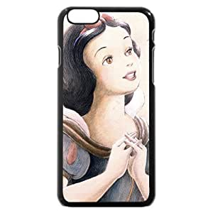 "Customized Black Hard Plastic Plastic Disney Cartoon Snow White iPhone 6 4.7 Case, Only fit iPhone 6 4.7"" hjbrhga1544"