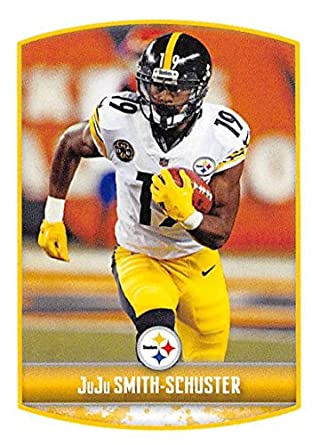 9d436be2c2c 2018 Panini NFL Stickers Collection #118 JuJu Smith-Schuster Pittsburgh  Steelers Official Football Sticker