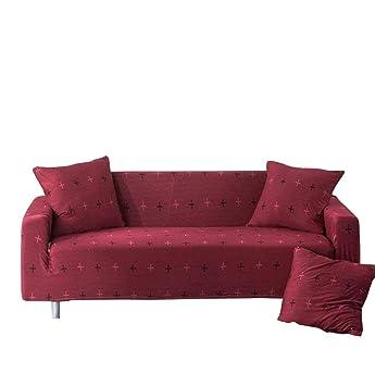 Monba - Funda elástica para sofá de 1 2 3 4 plazas, Funda ...