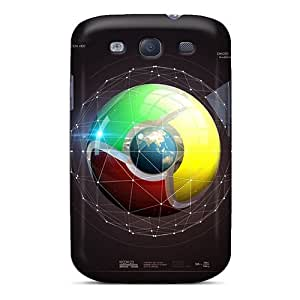 Durable Protector Case Cover With Google Chrome Hot Design For Galaxy S3