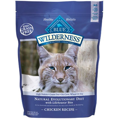 Blue Buffalo Wilderness Chicken with Sweet Potatoes Adult Dry Cat Food, 6-Pound Bag, My Pet Supplies