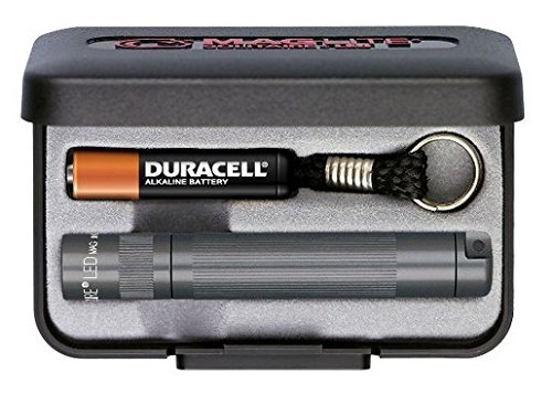 - MagLite Solitaire LED 1AAA Flashlight, Gray