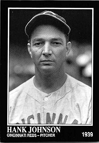 Hank Johnson baseball card (Cincinnati Reds Pitcher) 1992 Sporting News Conlan Collection #382