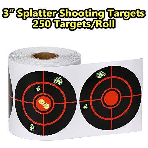 GearOZ Splatter Target Stickers for Shooting-3