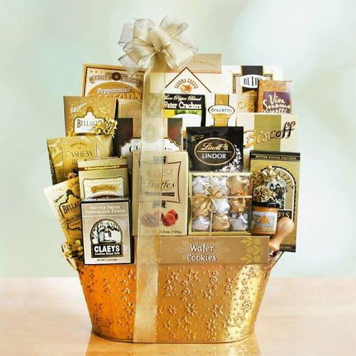 Golden Keepsakes Scrumptious Cookie Assortment Gift Basket   Christmas Gift Basket