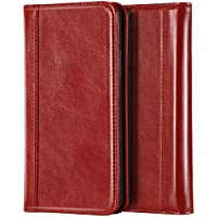 ProCase Genuine Leather Case with Kickstand Card Holder Protective Cover