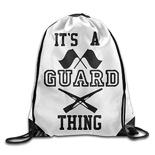 Its A Guard Thing Cool Drawstring Backpack String Bag