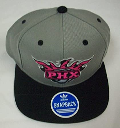 783bd23fe23c1 Image Unavailable. Image not available for. Color  Phoenix Suns Flat Bill Snapback  Hat by Adidas NM42Z