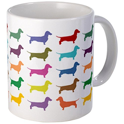 11 ounce Dachshunds, Dachshunds, Dachs Mug - Standard Multi-color [Kitchen] - Mug Dachshund