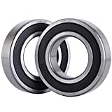 XiKe 2 Pack 6209-2RS Bearings 45x85x19mm, Stable Performance and Cost-Effective, Double Seal and Pre-Lubricated, Deep Groove Ball Bearings.