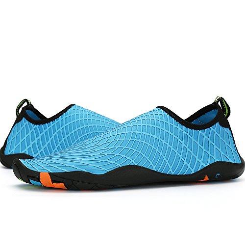 Sports Driving Unisex and Yoga Shoe Blue Dry SAGUARO Beach Aqua Skin Baby Swim Water Womens Barefoot Men Quick AzBPHBwqgx