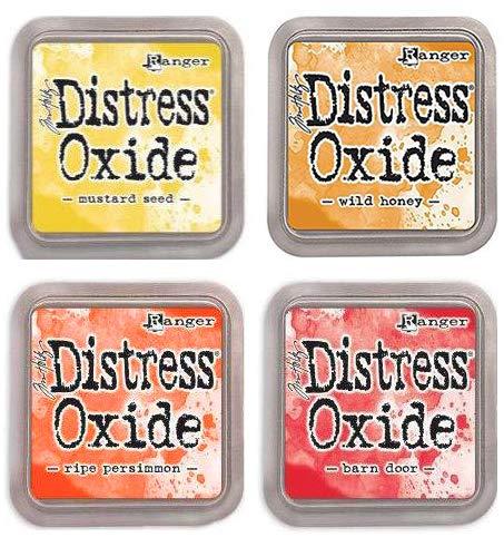 Tim Holtz Ranger Distress Oxide Ink Bundle J - Four 3