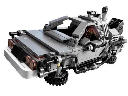 delorean time machine lego set - 2