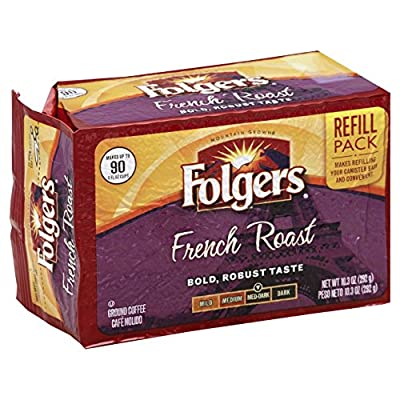 Folgers French Roast Ground Coffee Brick