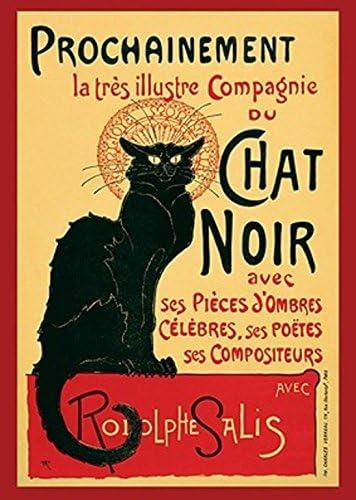 Grupo Erik Editores/ /Poster Chat Noir