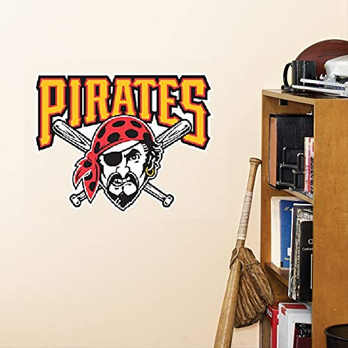 Pittsburgh Pirate Vinyl Decals Pirate Skeleton Car Or