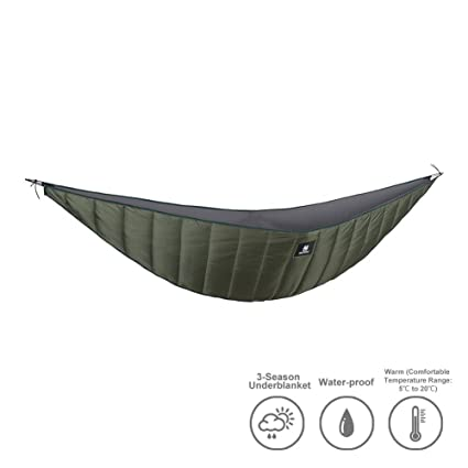 o igris hammock underquilt lightweight packable full length under blanket for camping backpacking backyard  od amazon    o igris hammock underquilt lightweight packable      rh   amazon