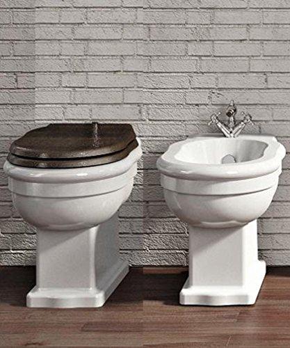 Ceramica Cielo Serie Windsor.Sanitari Vaso A Terra Bidet Coprivaso In Poliestere