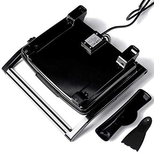 Grill Électrique, Micro-Ondes Grill Pan - Antiadhésifs Carbone Revêtu Plaque Griddle Autre sur The Go Petit Déjeuner, Déjeuner, Ou des Collations