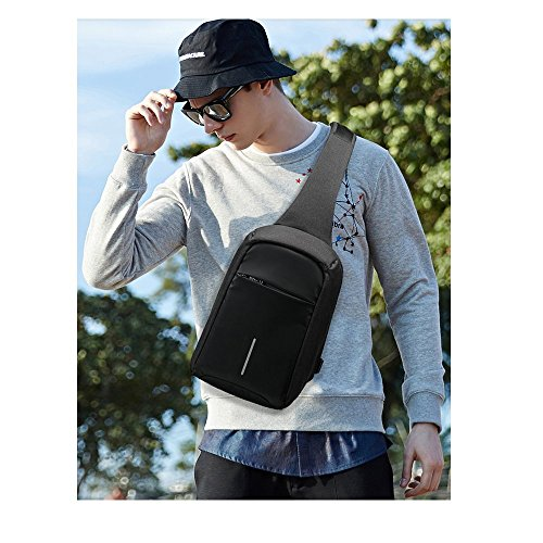 A Bumbag Messenger Bag Outdoor Anti Versatile Bag Bag Theft Man A Pack Chest Shoulder with Business Sports Bwan6qT