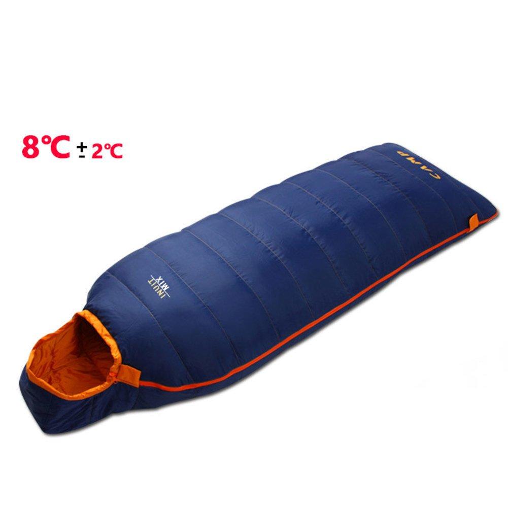 超軽量 寝袋屋外 大人 屋外 屋内,ポータブル 軽量 寝袋 シュラフ 3-4 季節 ハイキング キャンプ 旅行 バックパックを背負って B07DRB6NJR E 225x75cm(89x30inch) 225x75cm(89x30inch)|E