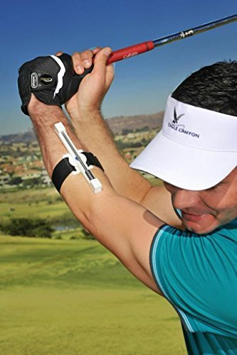 (SwingClick Golf Swing Aid Transition Trainer, Improves Rhythm, Tempo and Consistency)