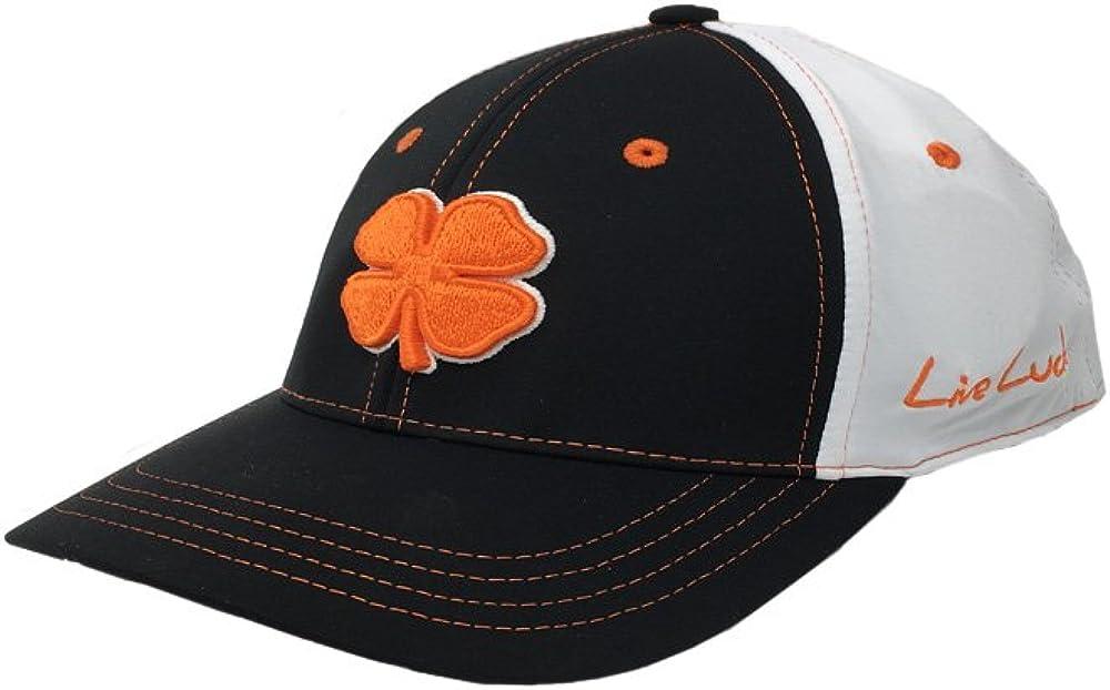 Black Clover PBC 20 Orange//Black//White Fitted Cap